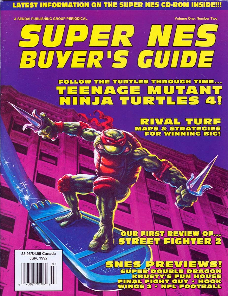 Super NES Buyer's Guide Issue 03 July 1992