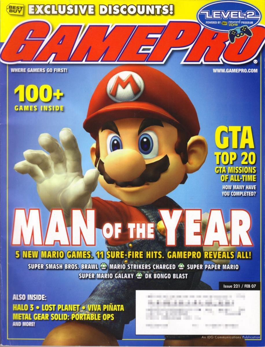 GamePro Issue 221 February 2007