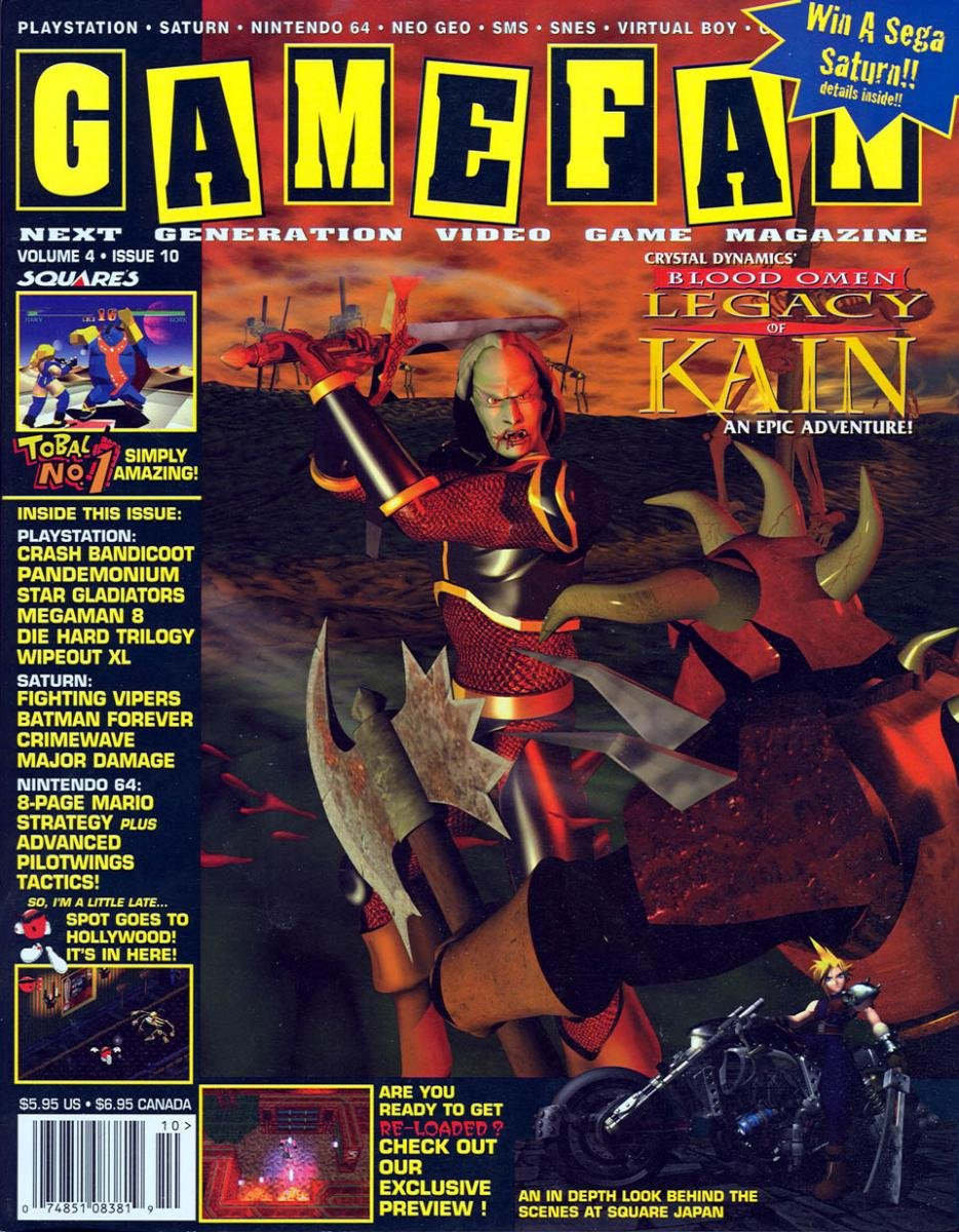 Gamefan Issue 46 October 1996 (Volume 4 Issue 10)