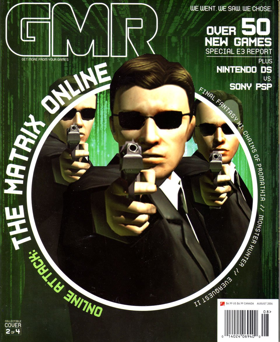 GMR Issue 19 August 2004 cover 2