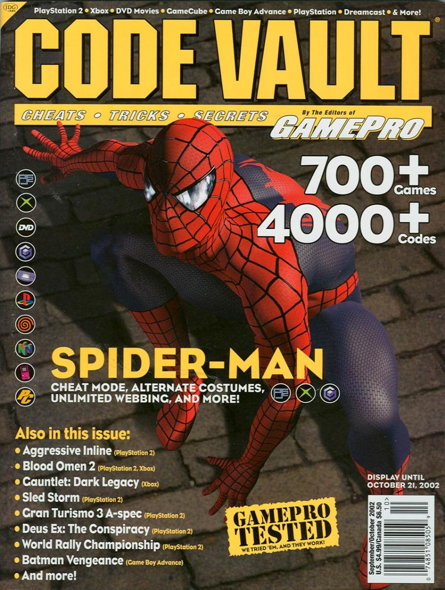 Code Vault Issue 07 September/October 2002