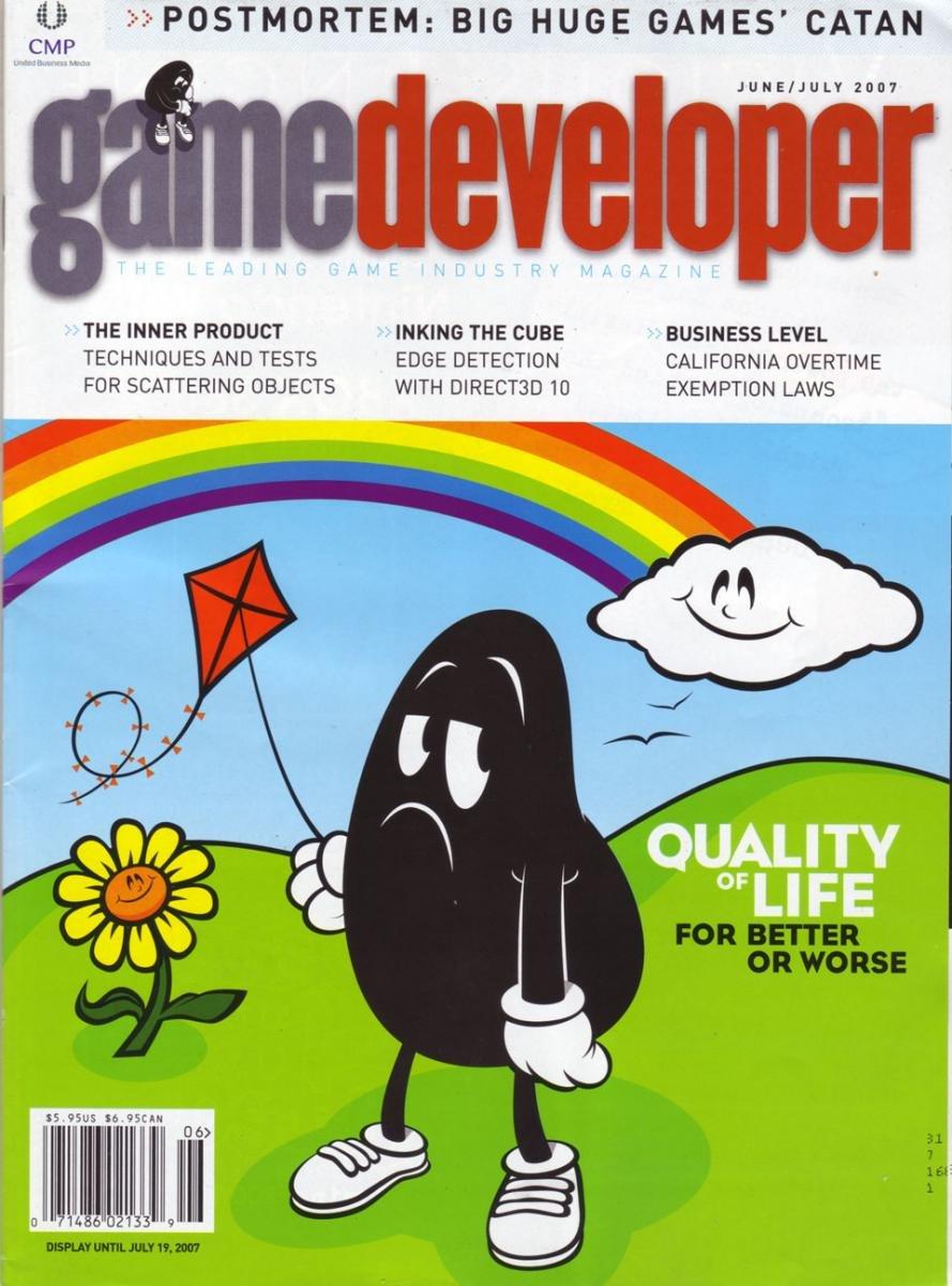 Game Developer 136 Jun 2007