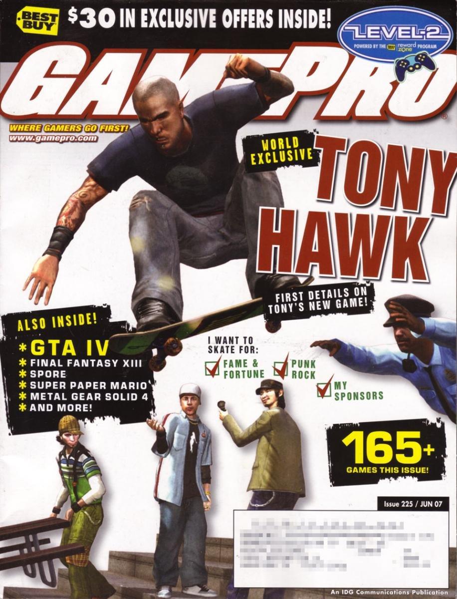 GamePro Issue 225 June 2007