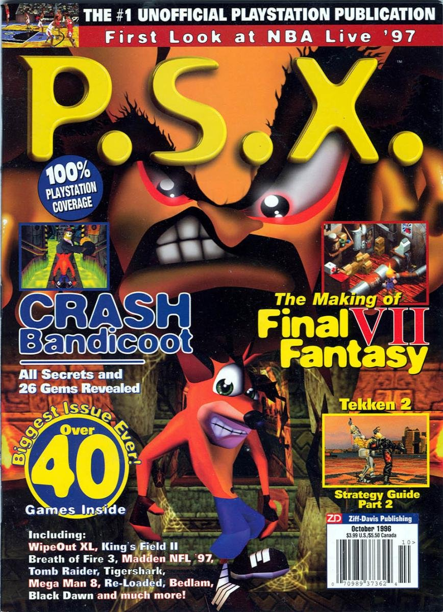 PSX Issue 07 (October 1996)