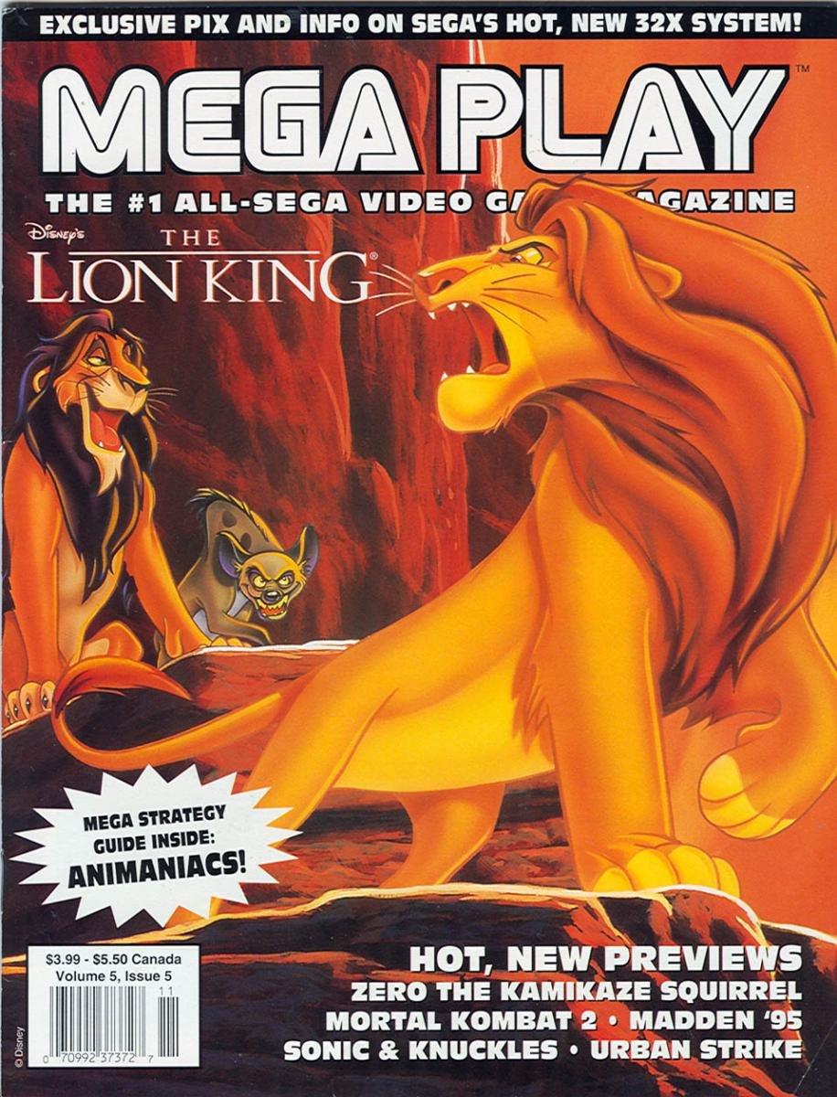 Mega Play Vol.5 No.5 October/November 1994