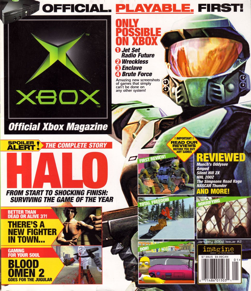 Official Xbox Magazine 002 January 2002