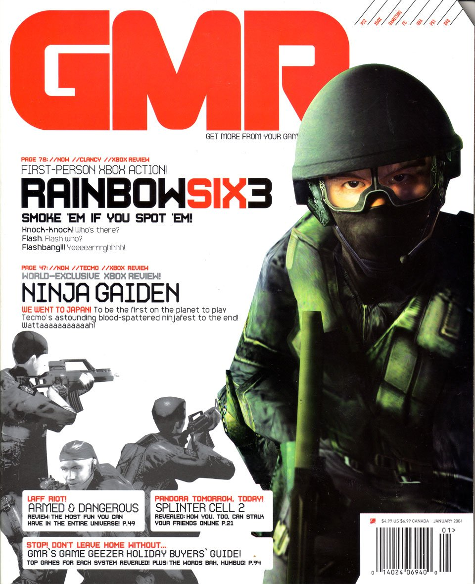 GMR Issue 12 January 2004 cover 2