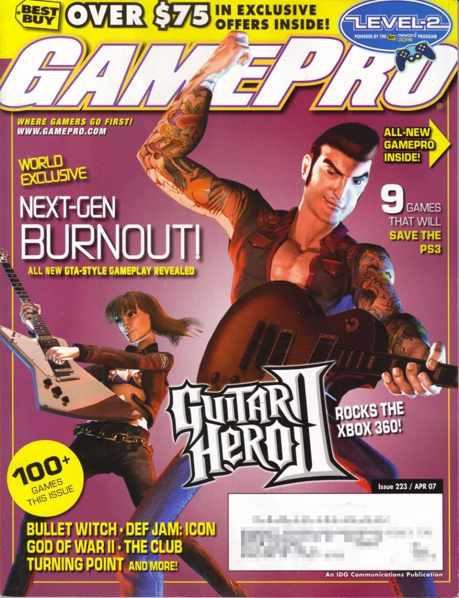 GamePro Issue 223 April 2007 (Subscribers Cover)