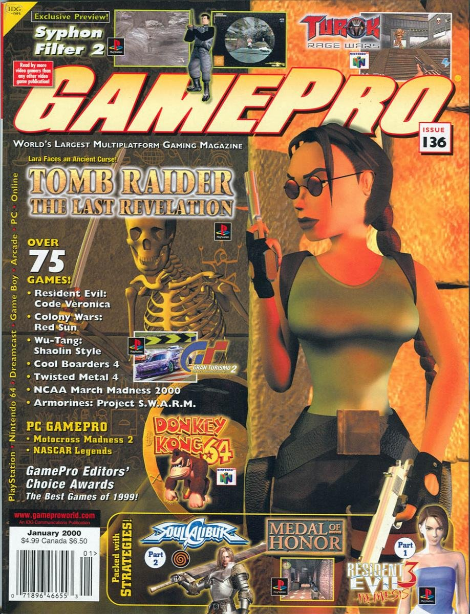 GamePro Issue 136 January 2000