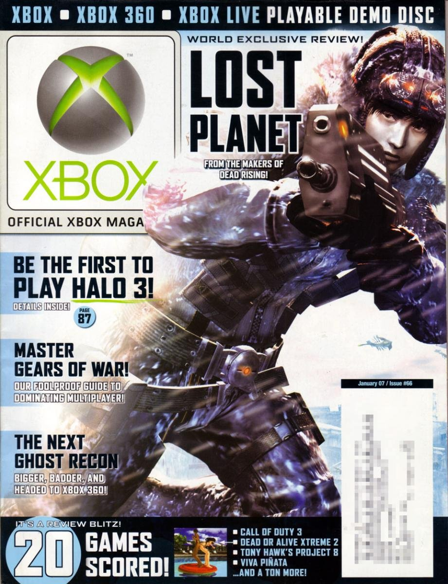 Official Xbox Magazine 066 January 2007