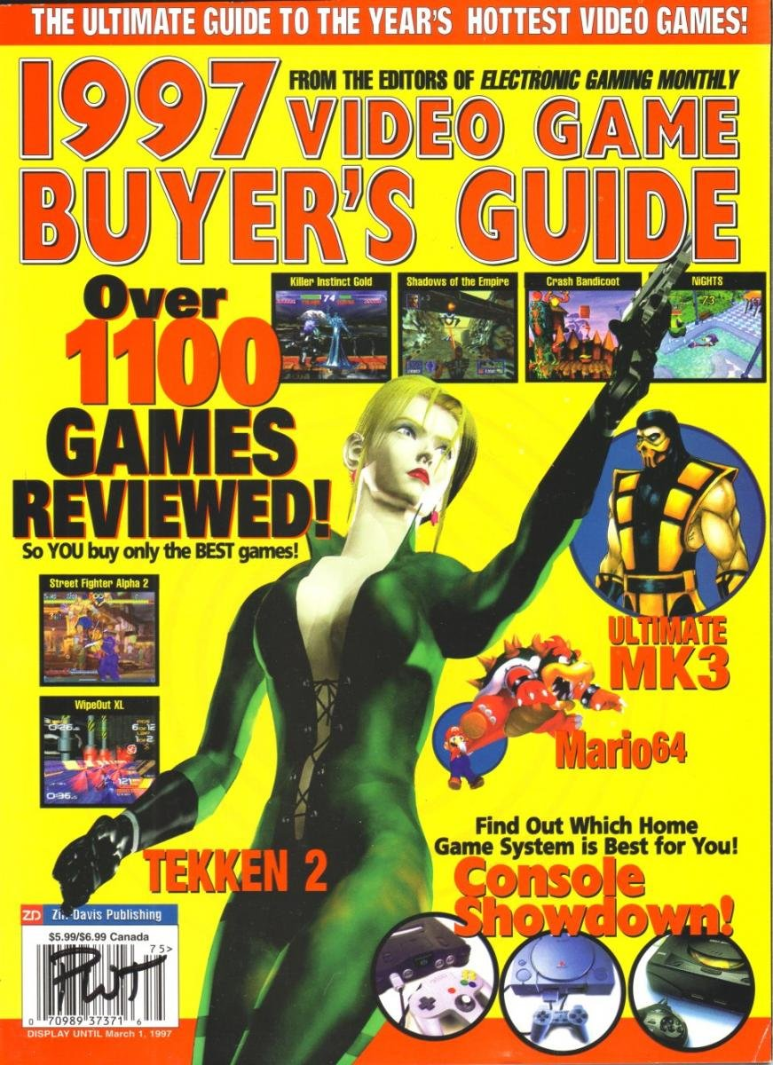 1997 Video Game Buyer's Guide