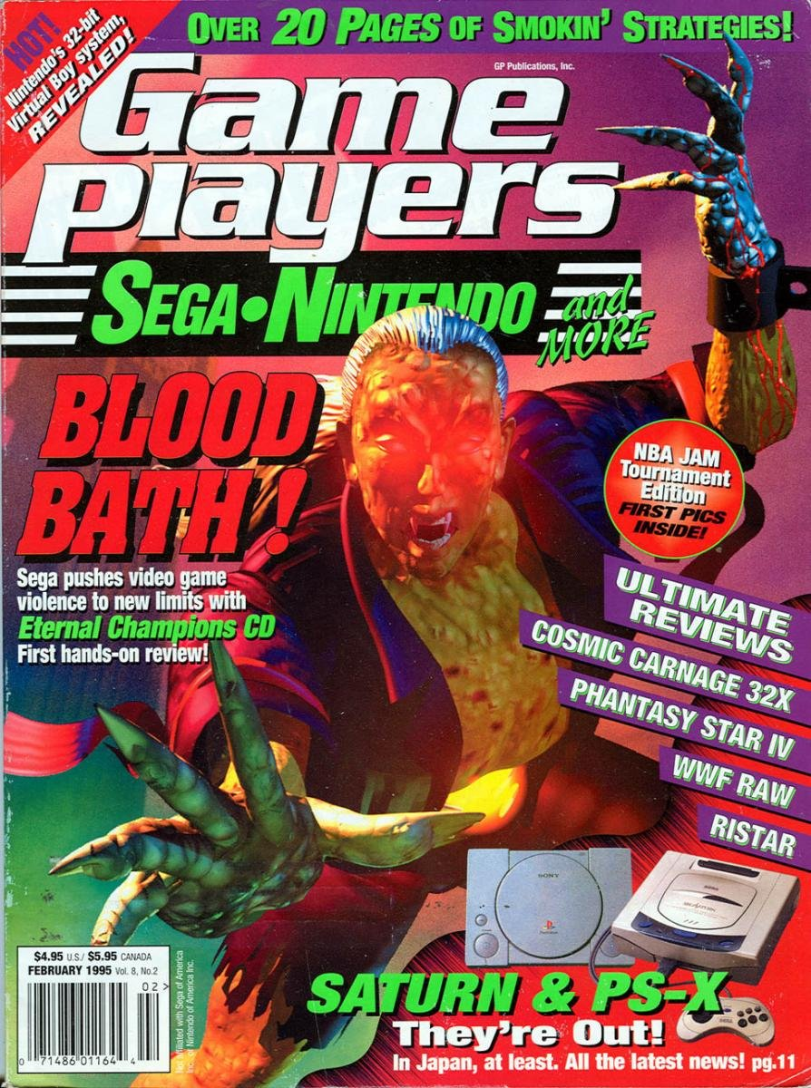 Game Players Issue 049 February 1995