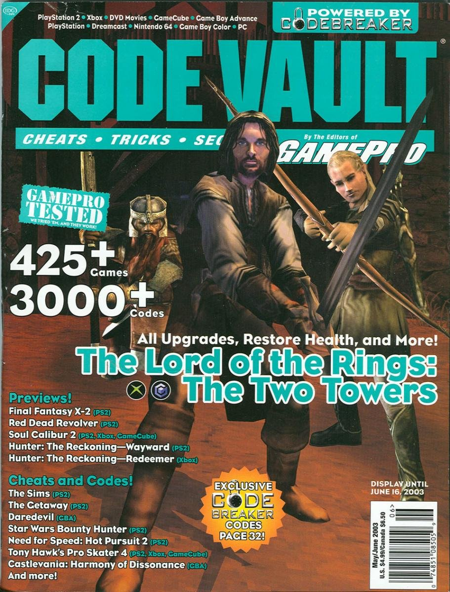 Code Vault Issue 10 May/June 2003