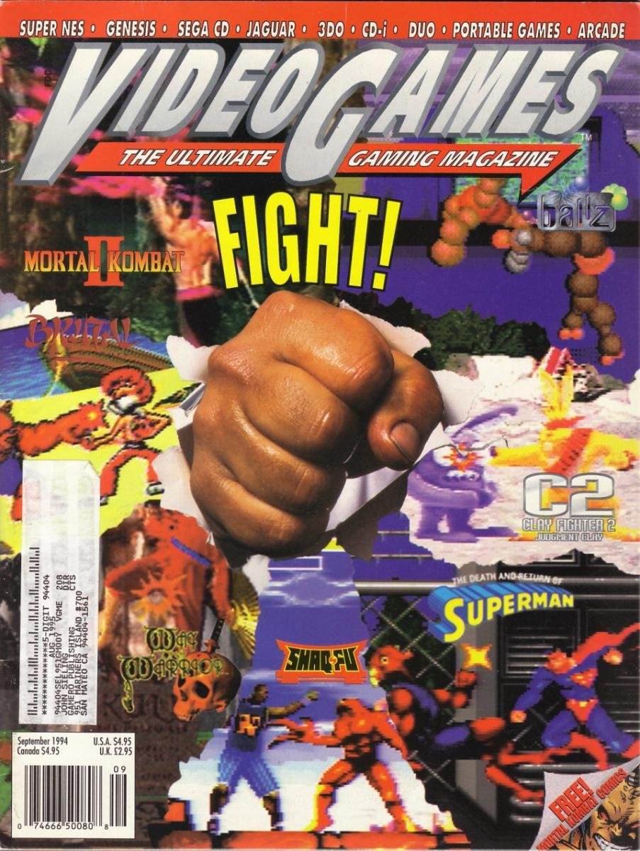 Video Games Issue 68 September 1994