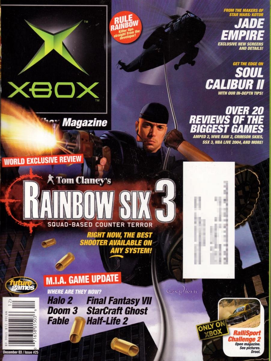 Official Xbox Magazine 025 December 2003
