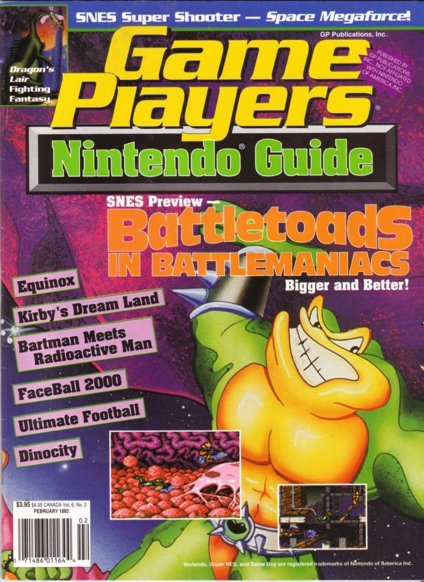 Game Players Nintendo Guide Vol.6 No.2 (February 1993)