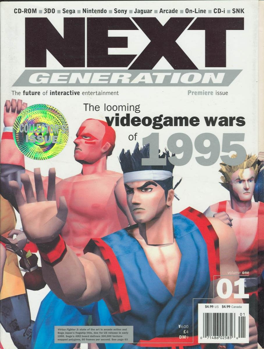 Next Generation Issue 01 January 1995