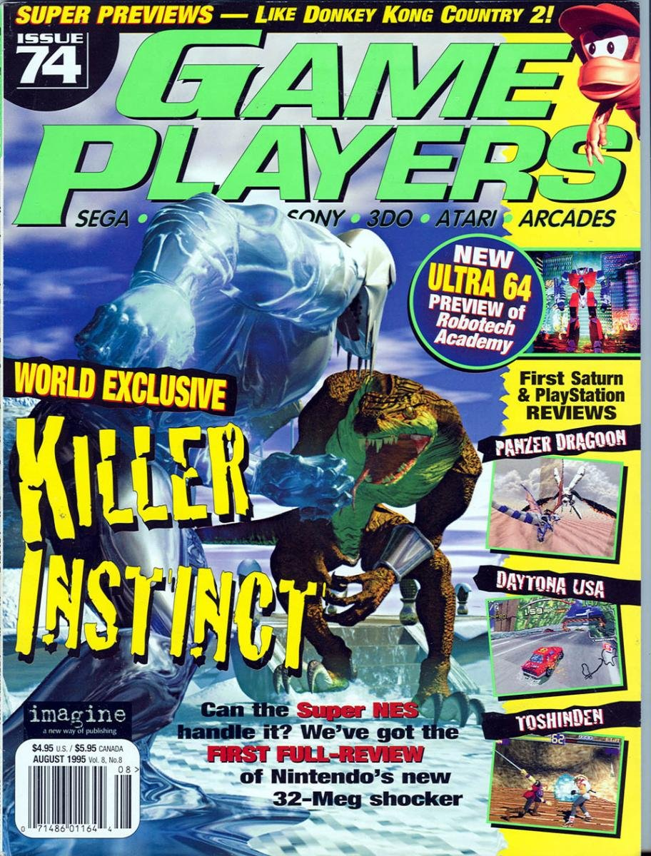Game Players Issue 074 August 1995