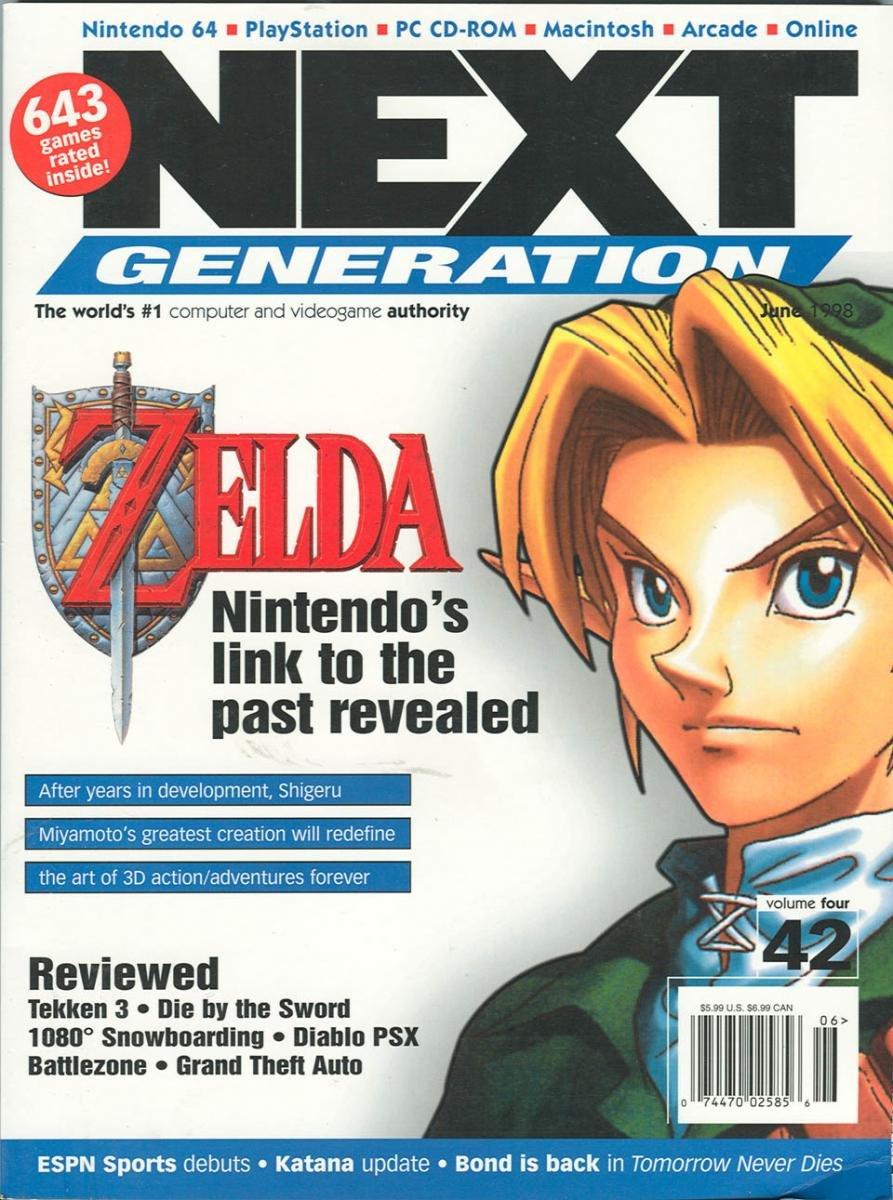 Next Generation Issue 42 June 1998