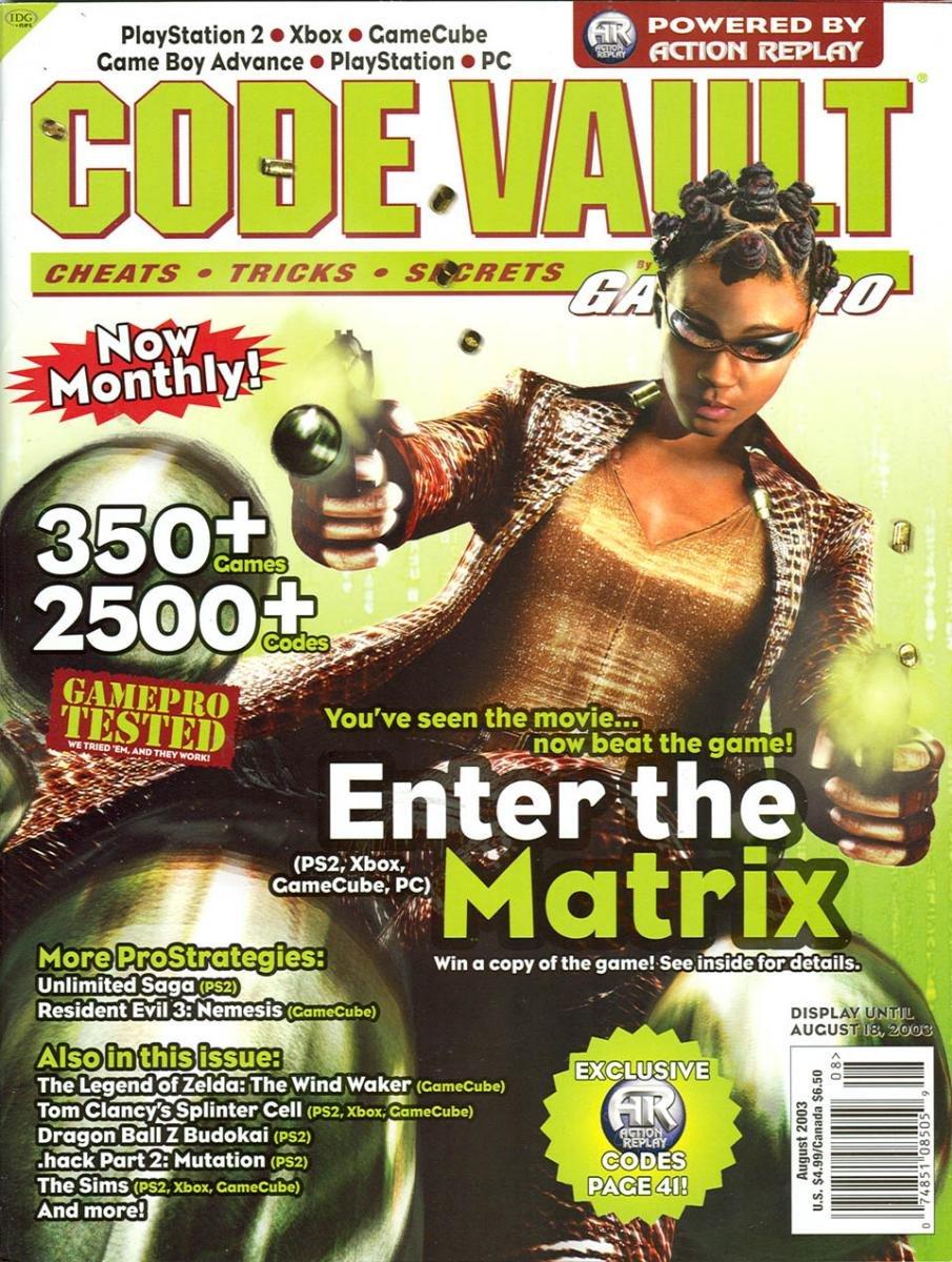 Code Vault Issue 12 August 2003