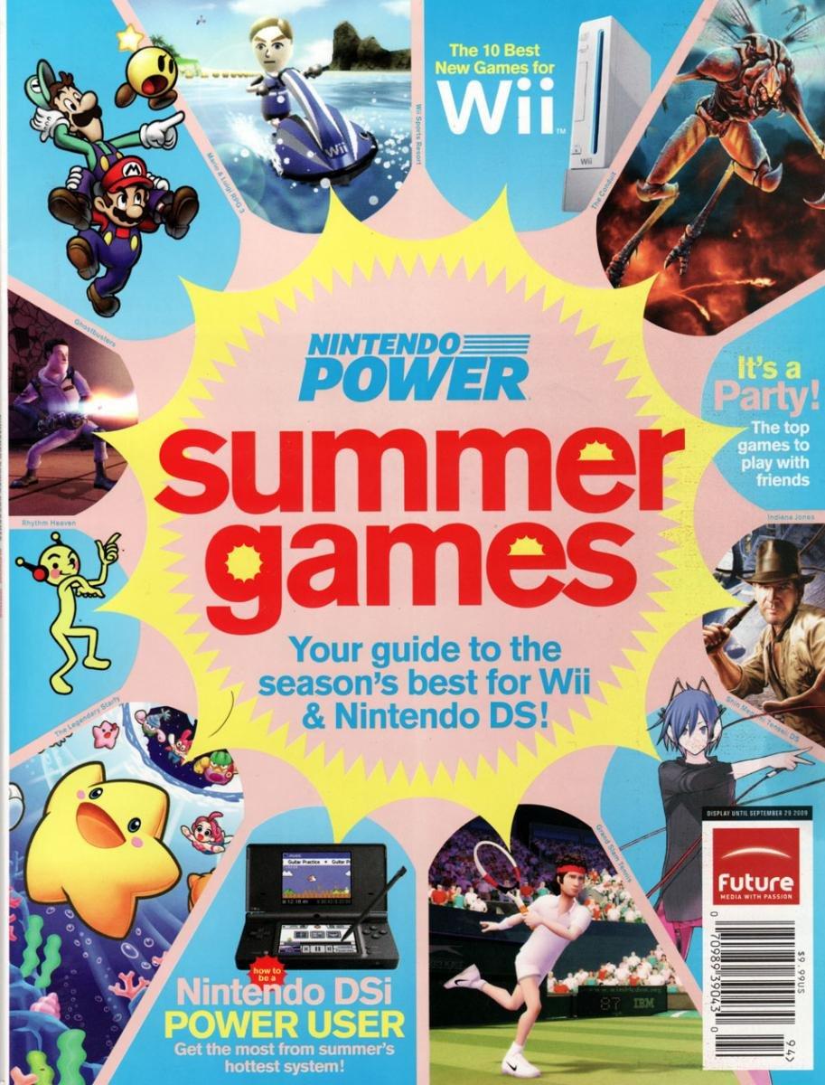 Nintendo Power Summer Games