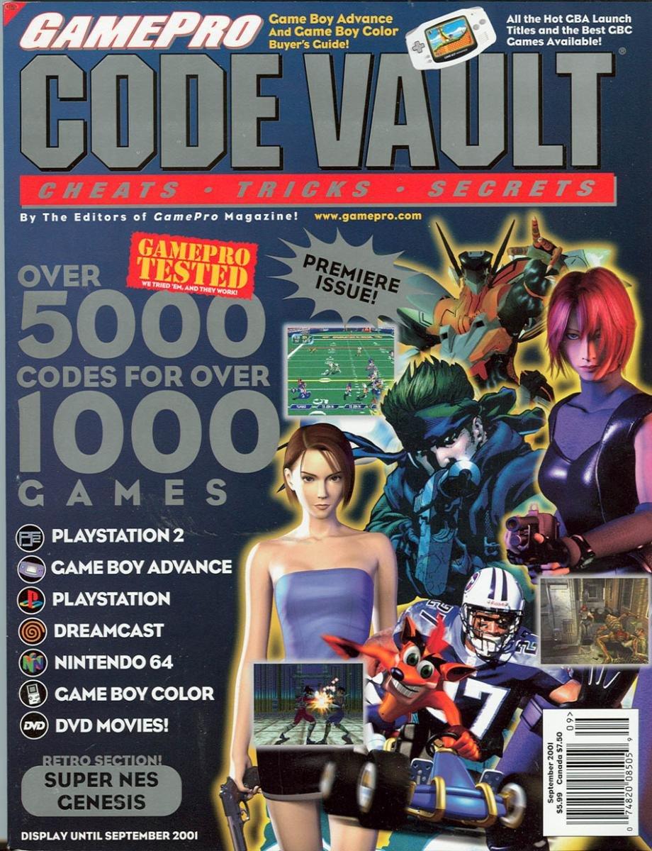 Code Vault Issue 01 September 2001