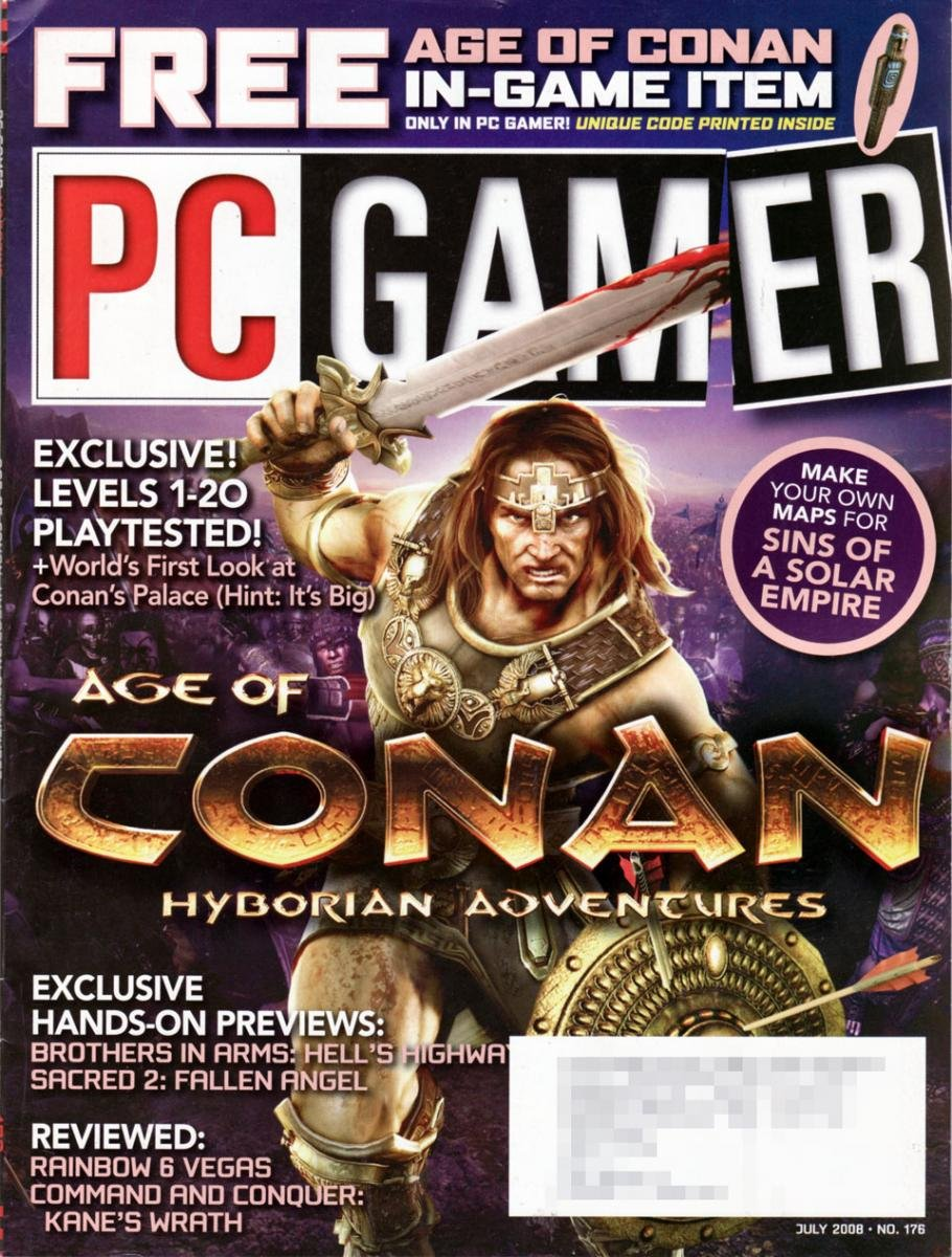 PC Gamer Issue 176 July 2008