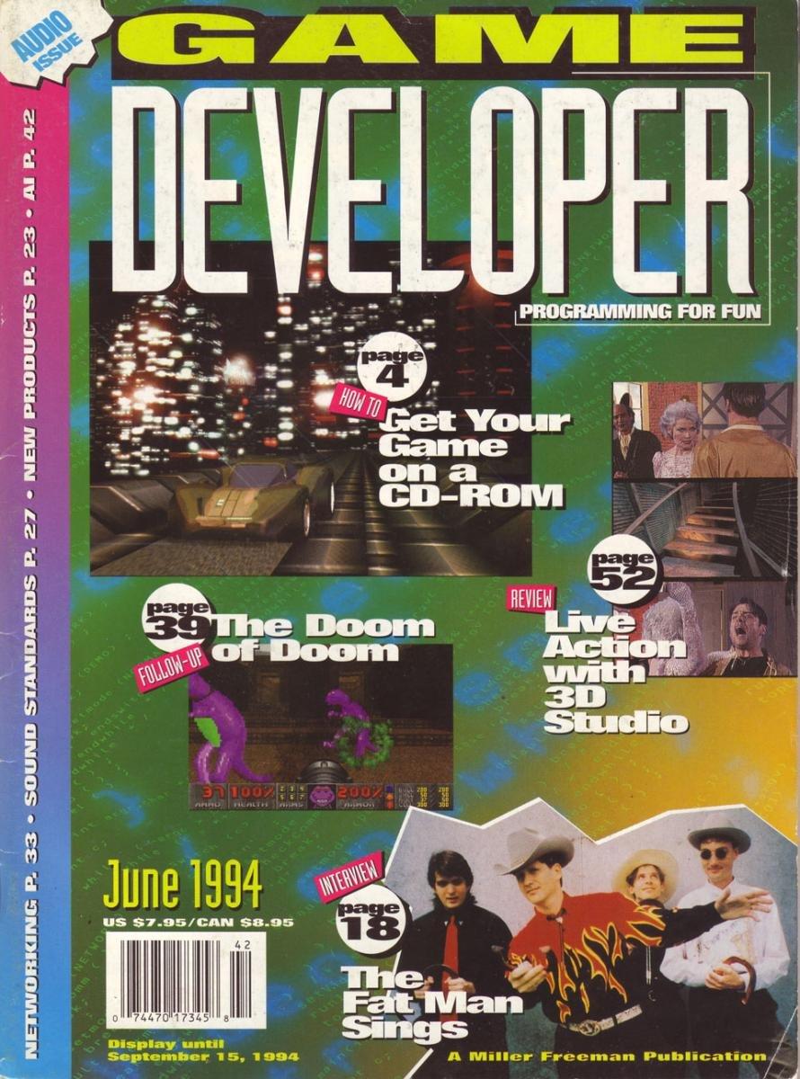 Game Developer 002 Jun 1994