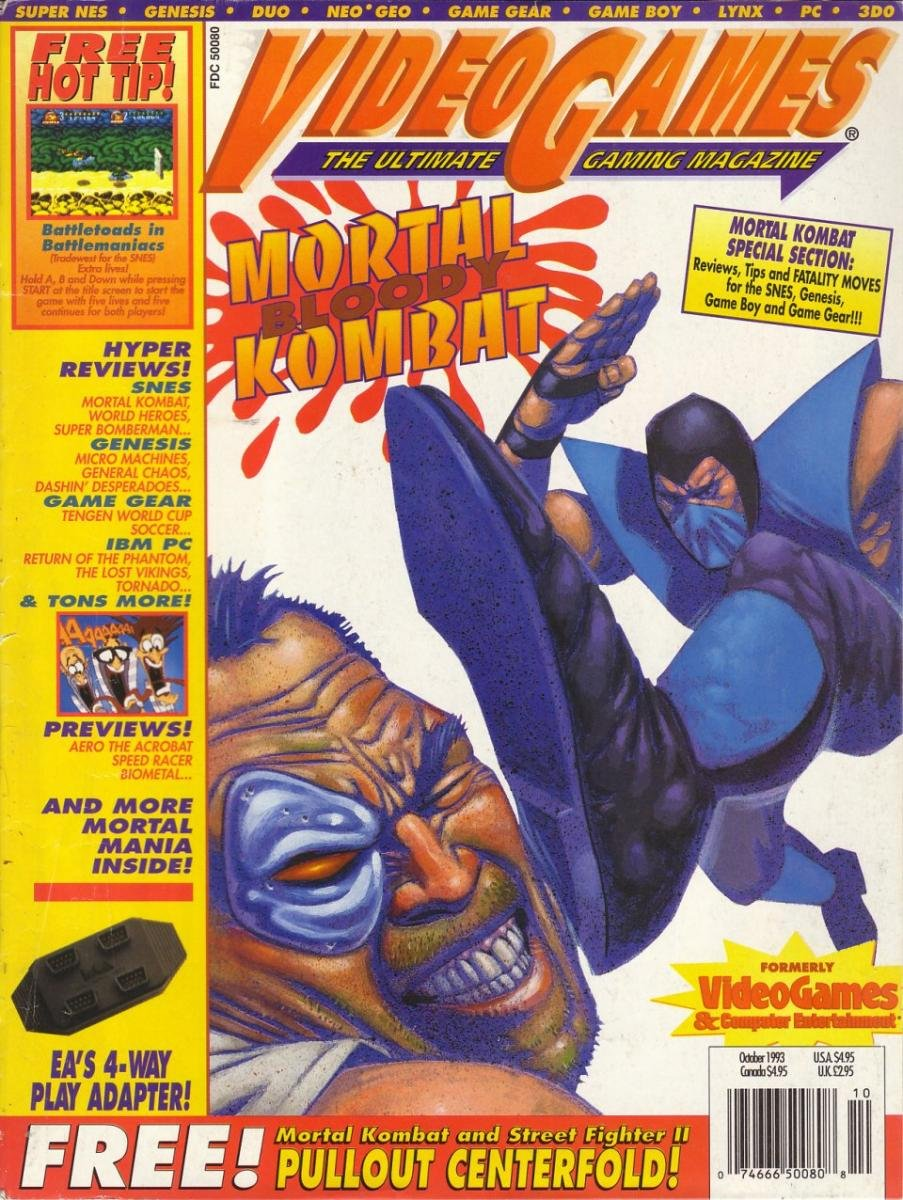 Video Games Issue 57 October 1993