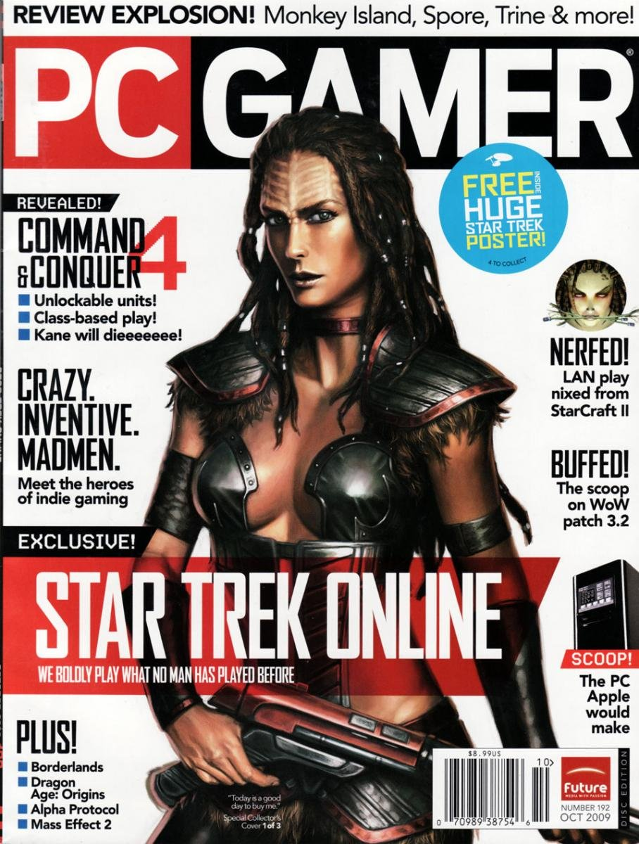 PC Gamer Issue 192 October 2009 (cover 1)