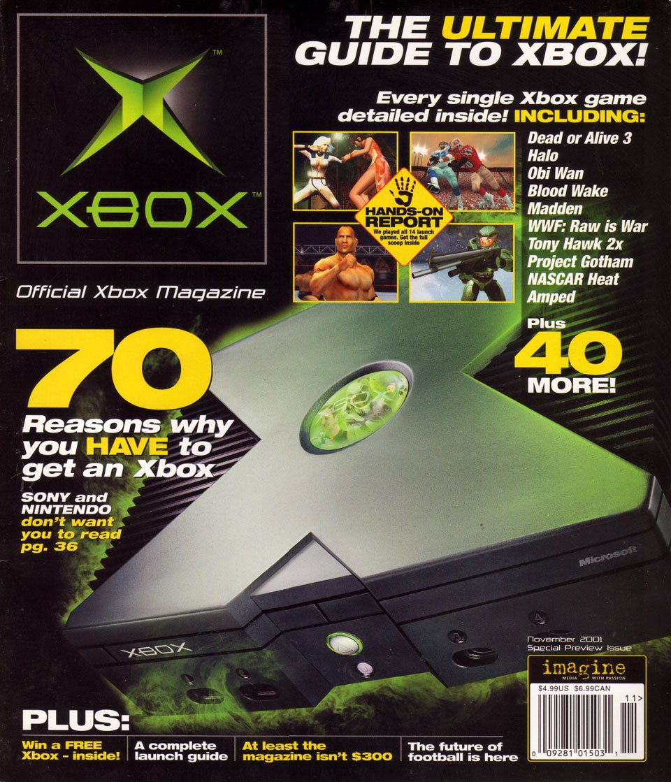 Official Xbox Magazine - Video Game Magazines - Retromags Community