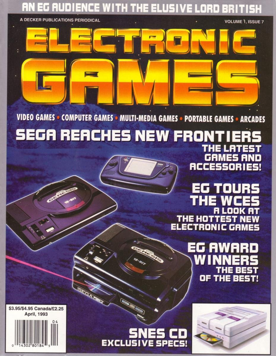 Electronic Games 041 April 1993 Vol 1 Issue 007