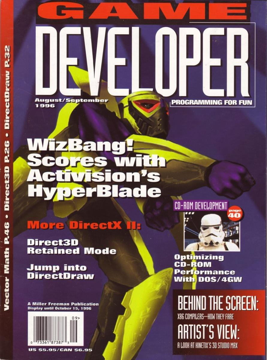 Game Developer 014 Aug 1996