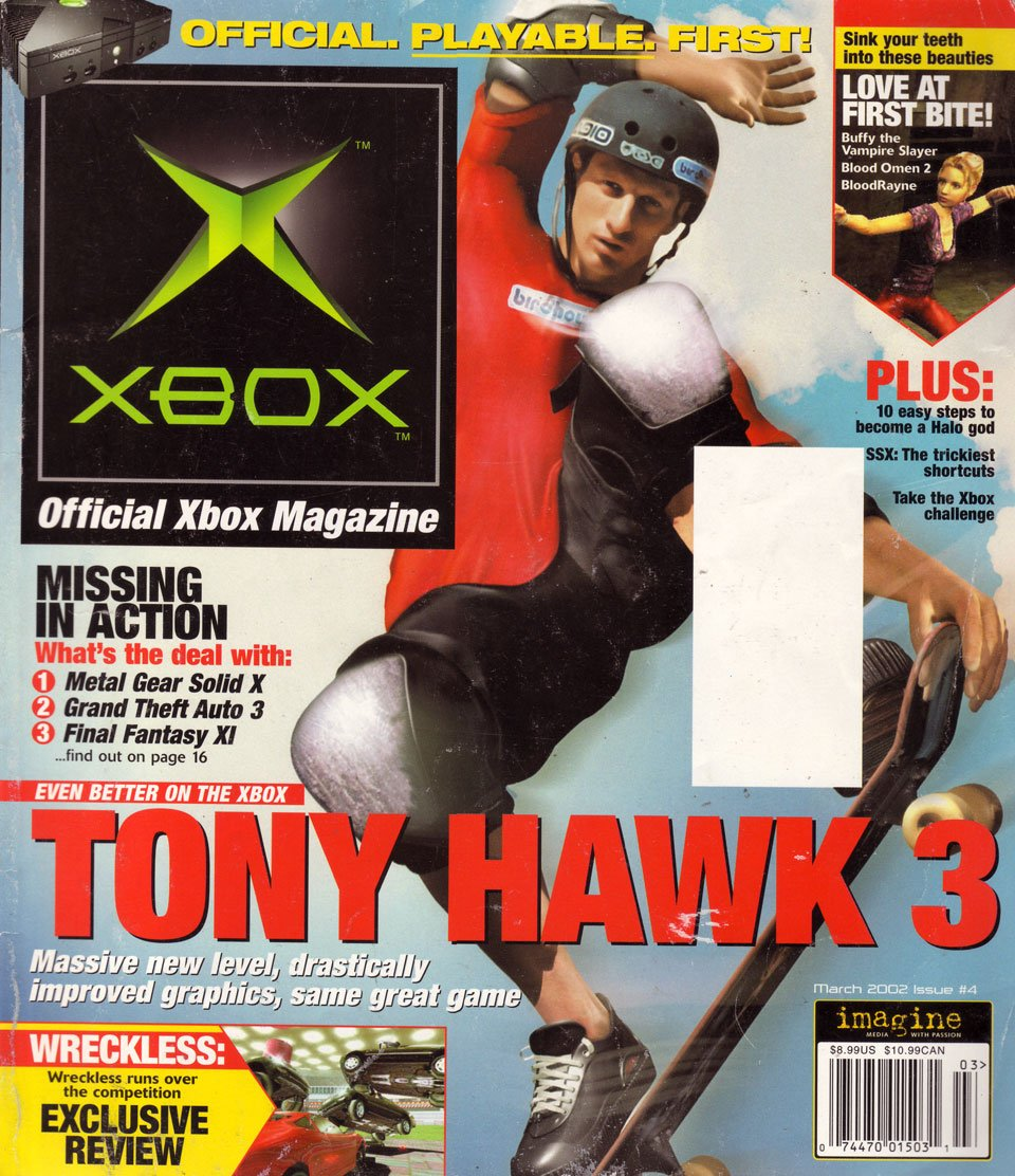 Official Xbox Magazine 004 March 2002