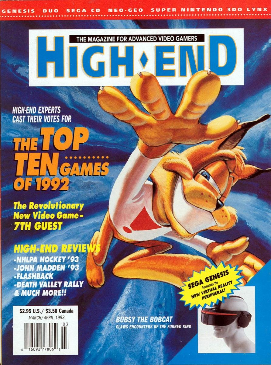 High-End Issue 4 March/April 1993