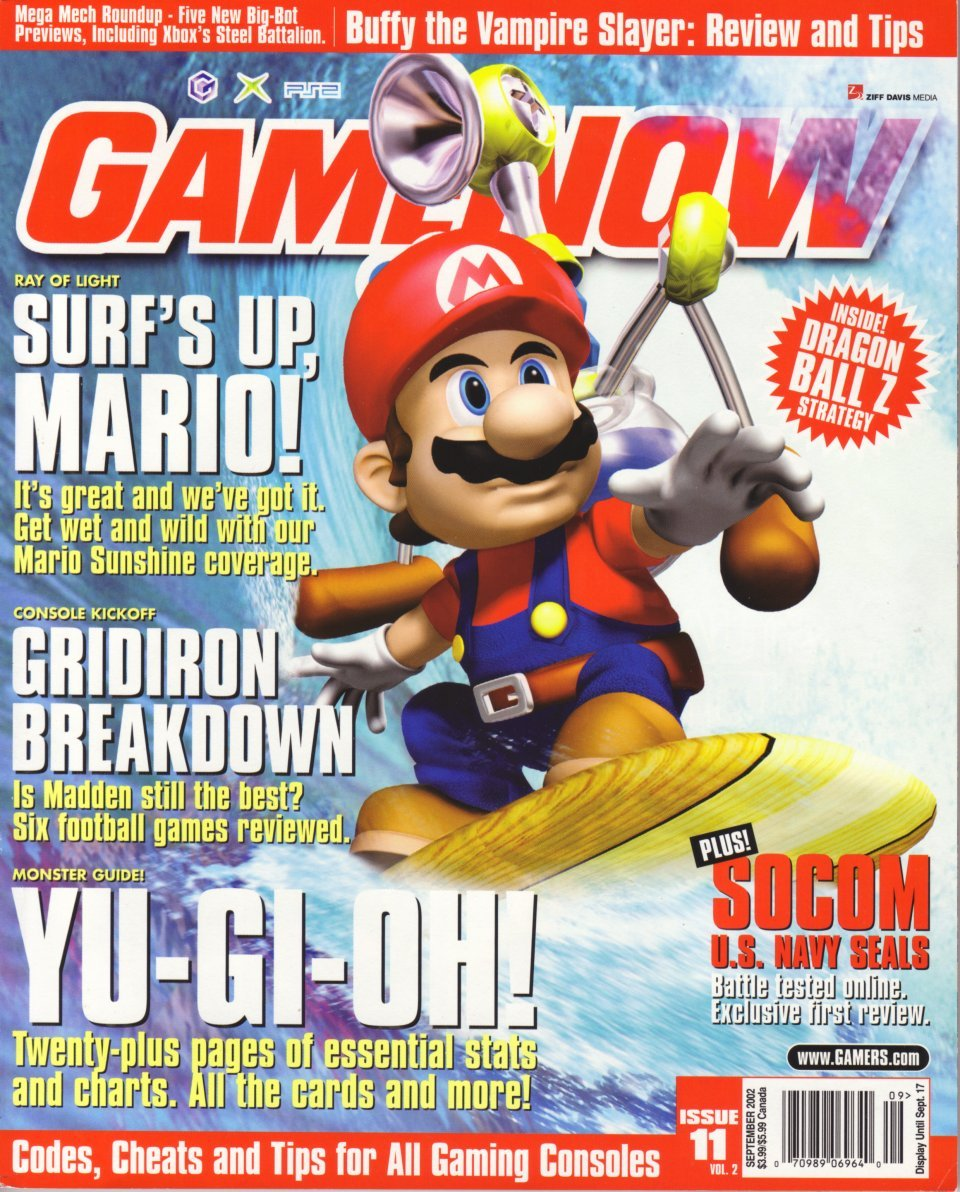 GameNOW Issue 11 September 2002