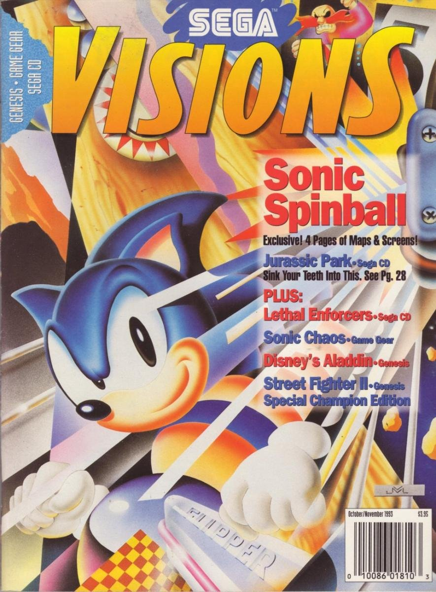 Sega Visions Issue 015 (October/November 1993)