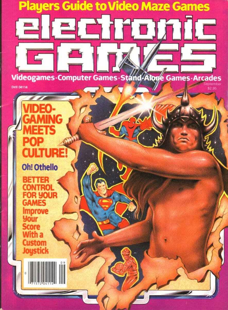 Electronic Games 007 Sept. 1982