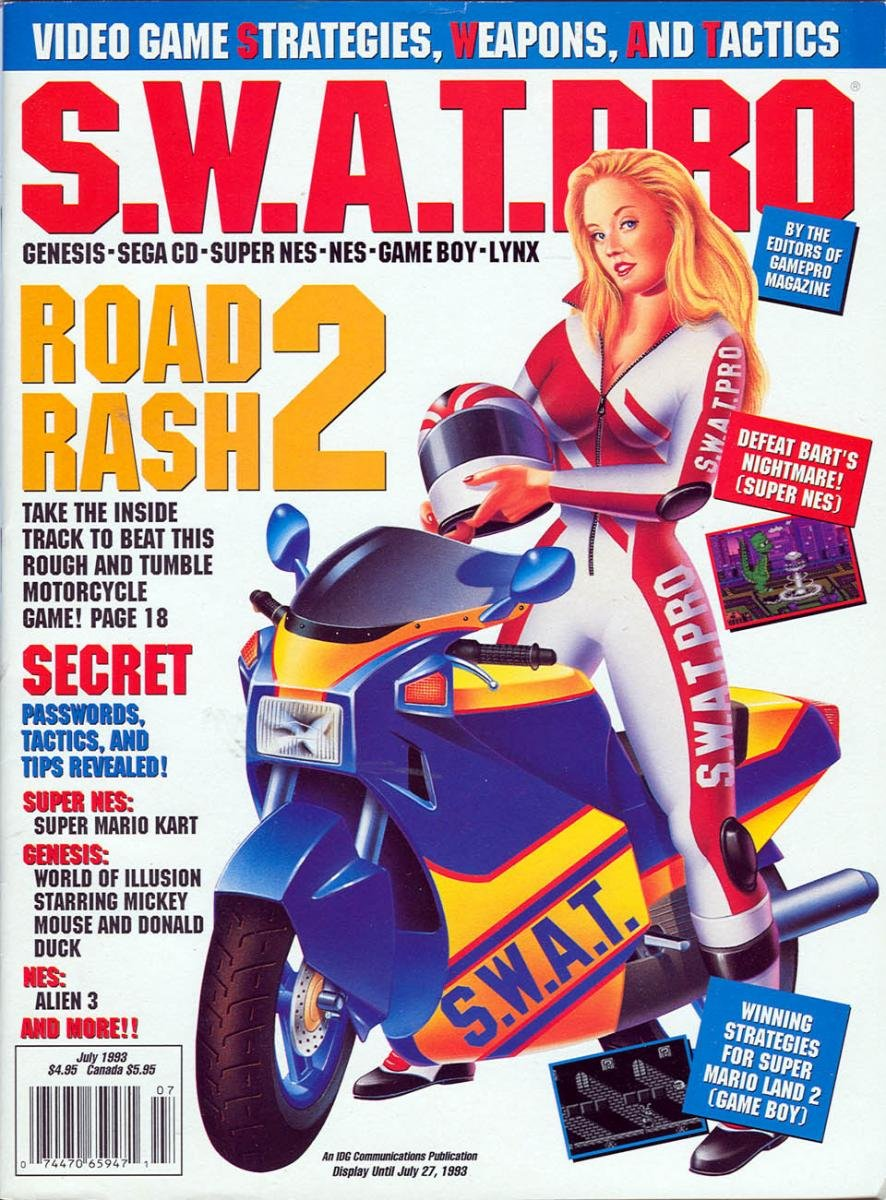S.W.A.T.Pro Issue 12 July 1993