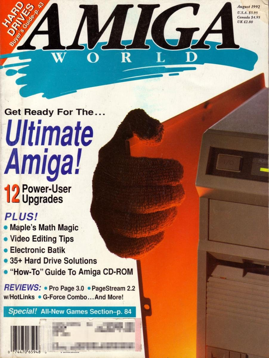 Amiga World 9208