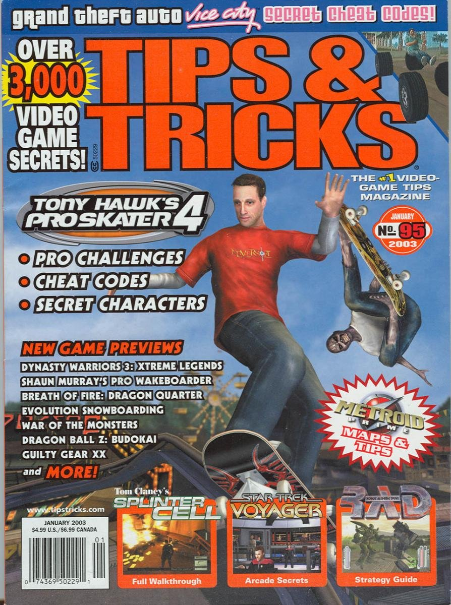 Tips & Tricks Issue 095 January 2003