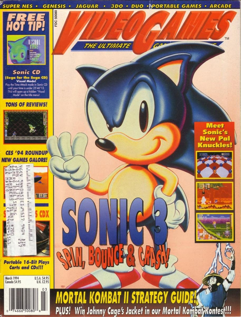Video Games Issue 62 March 1994