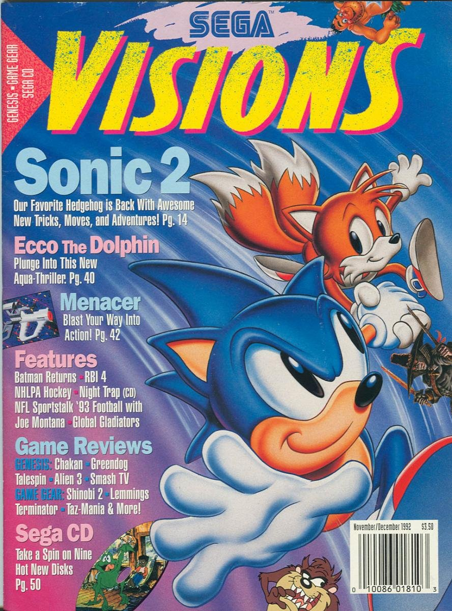 Sega Visions Issue 010 (November/December 1992)