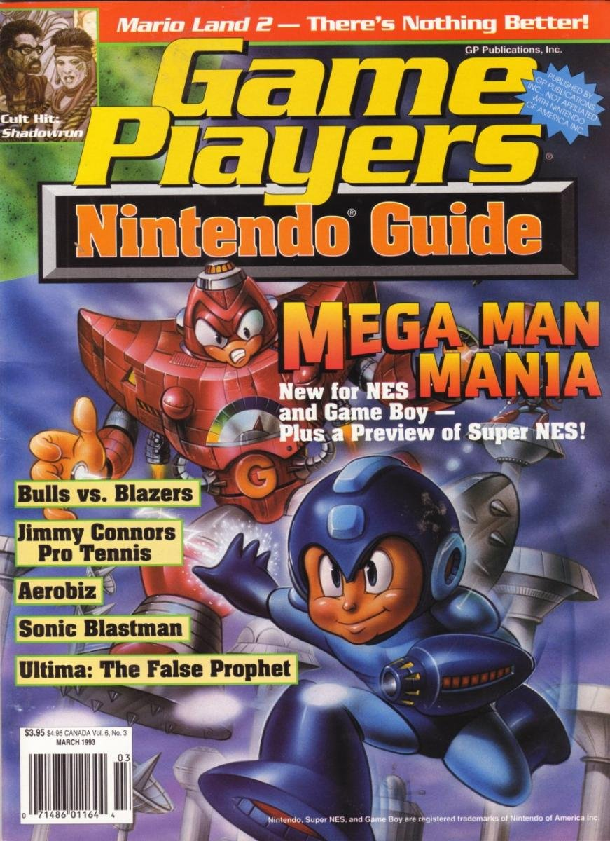 Game Players Nintendo Guide Vol.6 No.3 (March 1993)