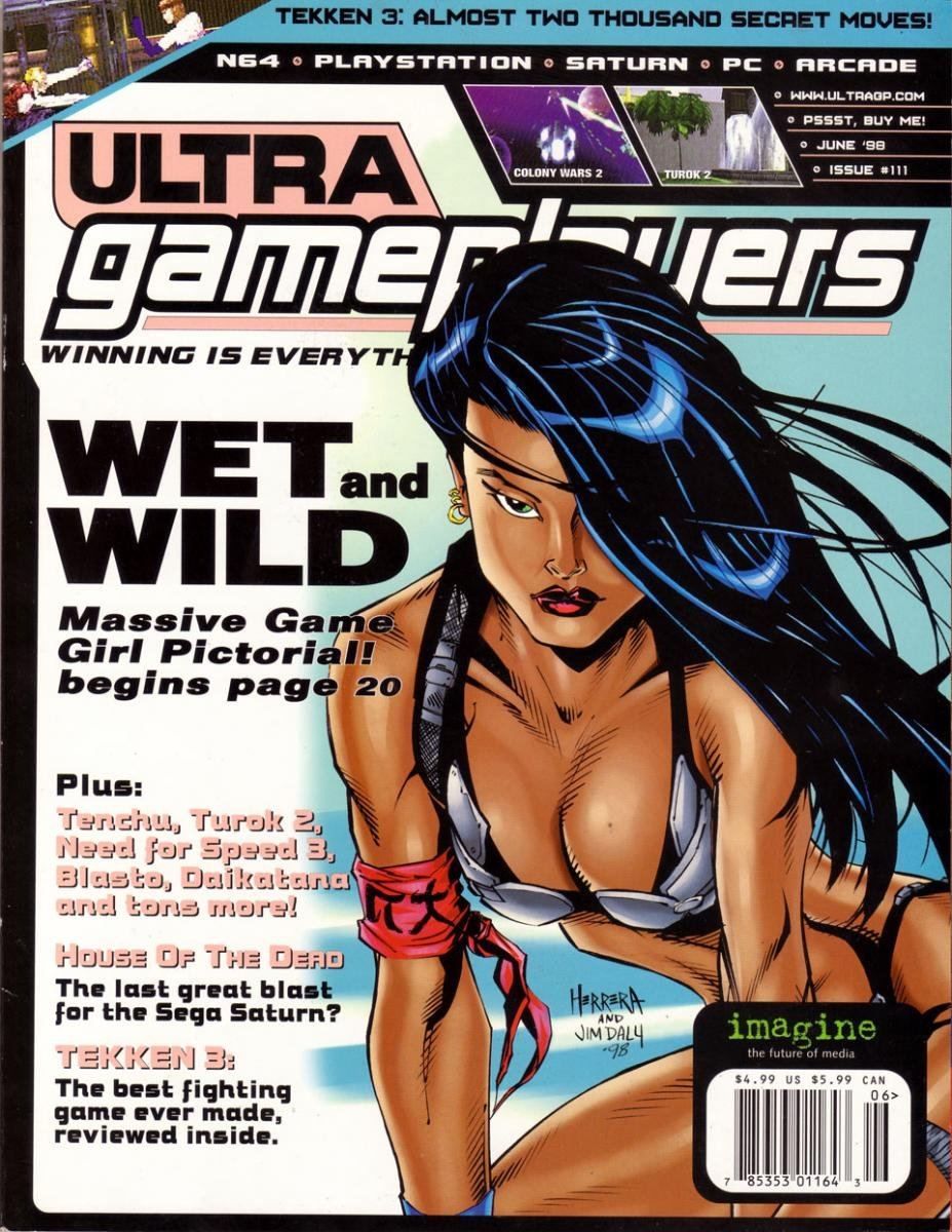 Ultra Game Players Issue 111 (June 1998)