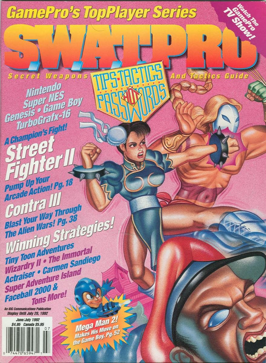 S.W.A.T.Pro Issue 06 June/July 1992
