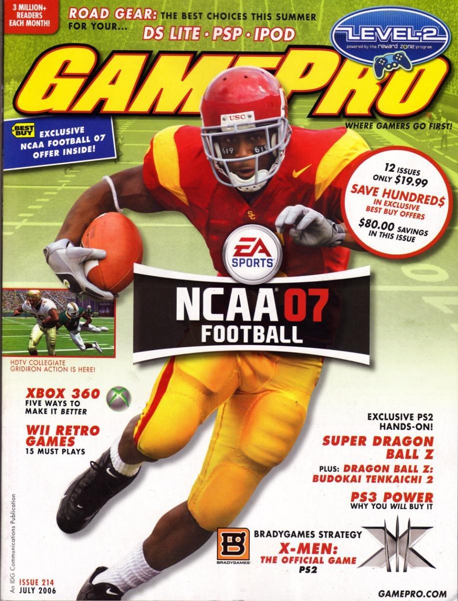 GamePro Issue 214 July 2006