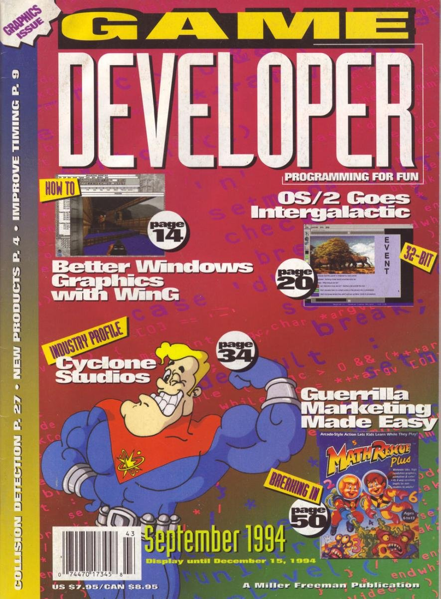 Game Developer 003 Sep 1994
