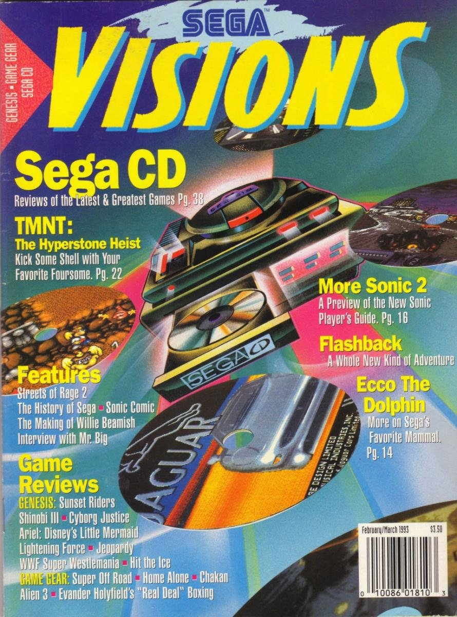 Sega Visions Issue 011 (February/March 1993)