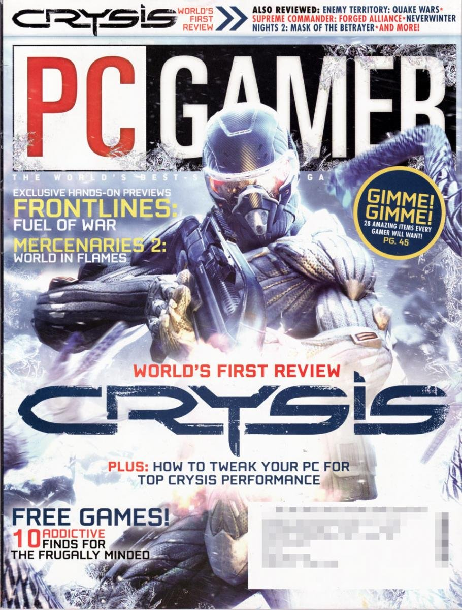 PC Gamer Issue 169 Holiday 2007